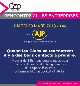 SOIREE SPEED BUSINESS CHEZ AJP IMMOBILIER
