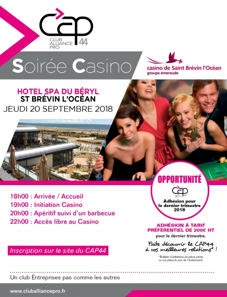 SOIREE CASINO CAP 44